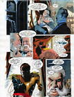 BATMAN MASTER OF THE FUTURE Pg #31 HAND COLORED PRINT GUIDE Barreto, Steve Oliff