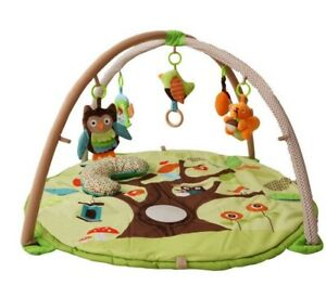 D59-Forest-Baby-Fitness-Bodybuilding-Frame-Cotton-Play-Mat-Activity-Gym-A