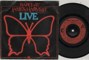 BARCLAY-JAMES-HARVEST-live-7-034-PS-3-pistes-Rock-N-Roll-Star-madicine-Man-partie