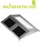 LED-Stainless-Steel-Solar-Wall-Light-Outdoor-Garden-Patio-Door-Light thumbnail 1