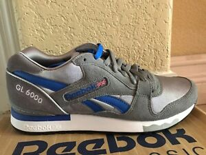 pretty nice ee2f8 80f79 Image is loading Reebok-Classic-GL-6000-Navy-Blue-Red-White-