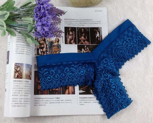 Women's Lace Sexy Briefs Thongs Underwear G-string T-back Sleepwear Knickers Hot