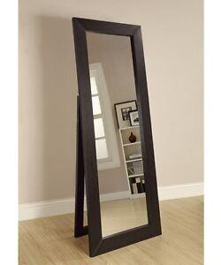 Floor Mirror Full Length Standing Leaning Beveled Cheval Portable ...