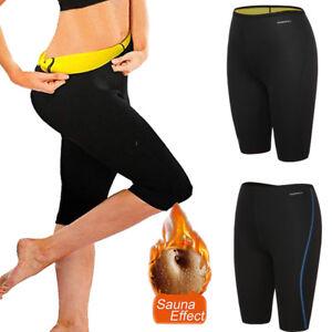 women sauna slimming pants weight loss body shaper yoga