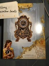 beauty and the beast belle bête Cogsworth clock Big ben Limited Disney SOLD OUT