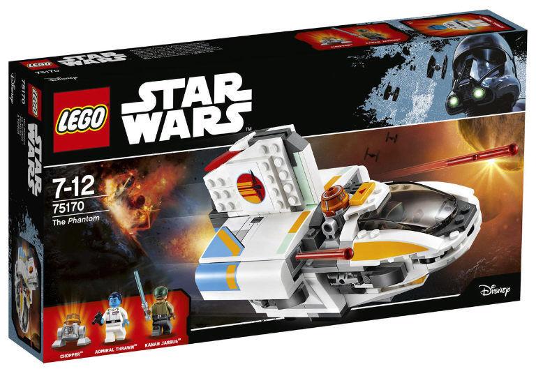 LEGO ® Star Wars 75170 the Phantom NOUVEAU NOUVEAU NOUVEAU & NEUF dans sa boîte Kanan Amiral Thrawn droïdes Chopper 87bbf4
