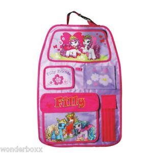 10 x Filly Rücksitztasche Spielzeugtasch<wbr/>e Rückenlehnenta<wbr/>sche Auto Organizer Neu