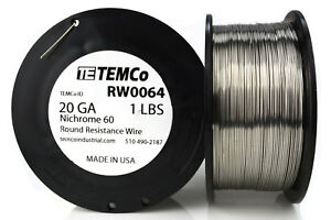 TEMCo-Nichrome-60-series-wire-20-Gauge-1-lb-347-ft-Resistance-AWG-ga