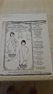 Antique Sewing Pattern- Tunic # 3688- 1920's