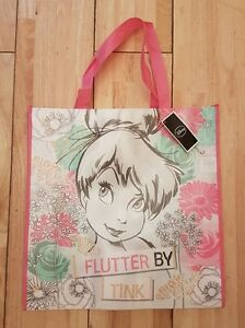 Tinkerbell-Fairy-Tote-Bag-ideal-for-school-gift-bag-Xmas-cute-Books-Folders