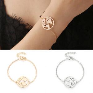 World-Map-Bangles-Bracelet-Jewelry-Globe-Travel-Jewelry-Chain-Link-Earth-Gift