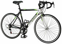 Schwinn 700c Men Axios Drop Bar Road 21.5Inch Frame Bicycle (Silver/Black/Green)
