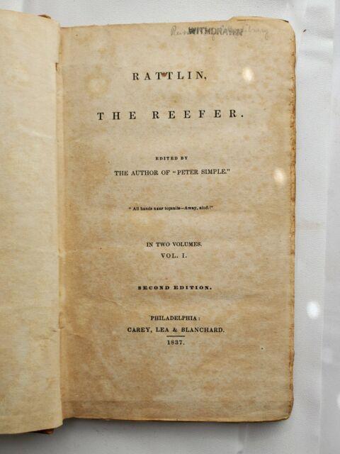Rattlin the Reefer Captain Marryat Vol 1 & Vol 2