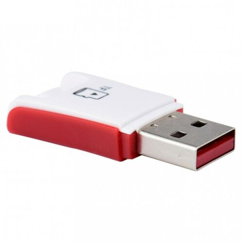 2 Pcs Mini 2.0 Micro SD TF T-Flash Memory Card Reader Adapter High Speed USB