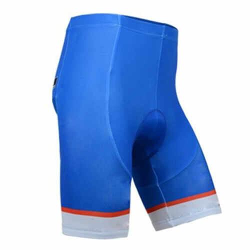 Bib Shorts Padded Bicycle Biking Shorts Bibs S-5XL Men/'s Blue Cycling Shorts