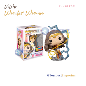 Wonder-Woman-84-Funko-Pop-No-361-Limited-Edition-GITD-WW84-Vinyl-Figure