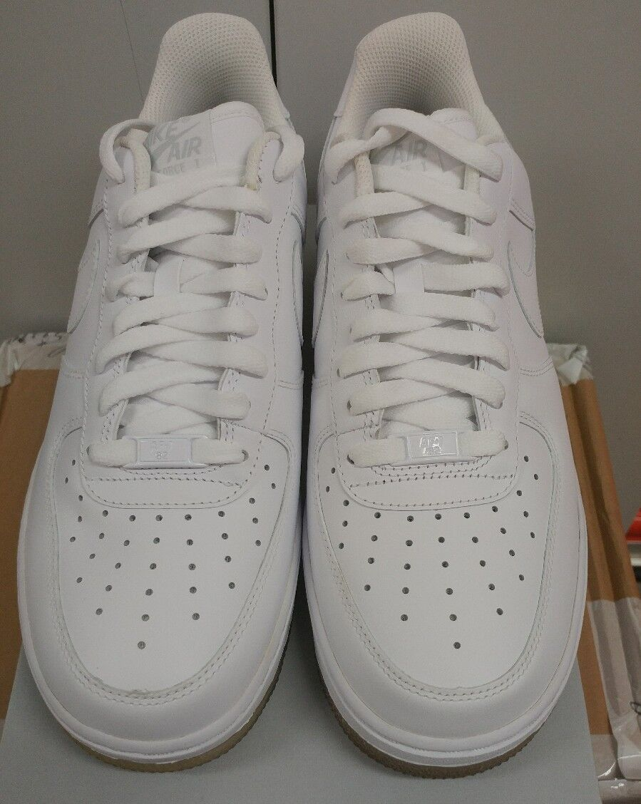 Nike Air Force 1 '07  Ice White Neutral Grey Af1 Basketball 315122-996 Size 9.5