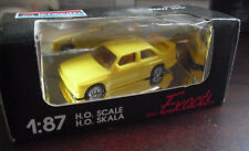 COOL Small Monogram Exacts HO Scale Yellow BMW 325i Car NIB