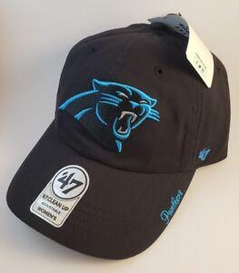 NWT Carolina Panthers Womens 47 Hat Cap NFL Football Women OSFA ... 6f841373b5b