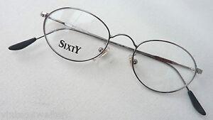 Fast Rund Neu Edelstahl Schlicht Gr S Farben Sind AuffäLlig Rational Brillenfassung Leicht Silber Panto