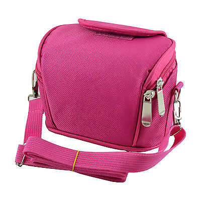 APS Pink Camera Case Bag for POLAROID IS2132 Bridge Camera