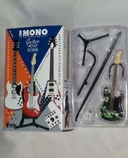 F-TOYS Guitarra Mono 1:12 escala Novedad stratype Stratocaster camofura 1C #