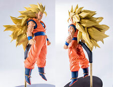 Dragon Ball Super Scultures BIG 6 Super Saiyan 3 Son Goku Figur lizensiert 18cm