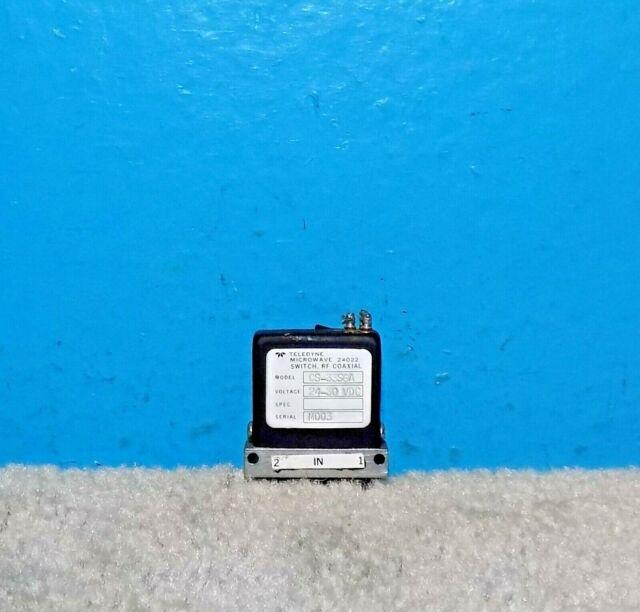 Teledyne Microwave Switch CS33S10 24-30 VDC