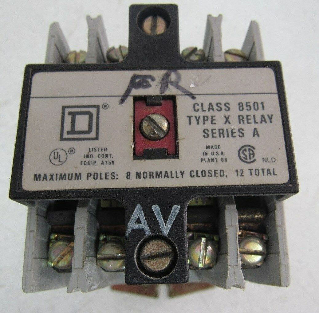 Relays Class 8501 8 Pin Wiring Diagram Control Relay Diagrams Square D Xd080v53 Type Xd0 40 Eight Polessquare
