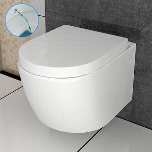 bad1a h nge wc mit taharet bidet funktion keramik wc wc sitz passend geberit ebay. Black Bedroom Furniture Sets. Home Design Ideas