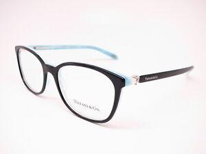 565eb4141a9 Tiffany   Co TF 2109-H-B 8193 Black  Striped Blue 2109HB Eyeglasses ...