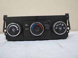 Details about ✅ 07 08 09 Silverado Tahoe Sierra Yukon AC A/C Heater Climate  Control Module OEM