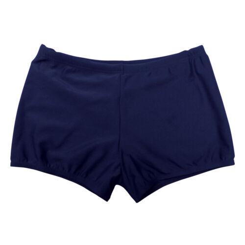 Twin Pack Boys Mens School Uniform Stretch Swiming Shorts Black Navy BT3157