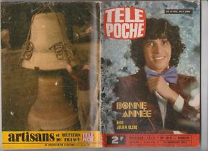 TELE POCHE 1975 N° 515 COMPLET BONNE ANNEE - JULIEN CLERC