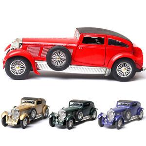 1-32-Vintage-Bentley-8-Litre-1930-Die-Cast-Modellauto-Spielzeug-Model-Sammlung