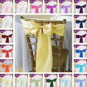 10-20-50-100-pcs-Satin-Chair-Sash-33-colors-Wedding-Banquet-Event-Wholesale