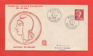 FDC-1959-Marianne-de-Muller-686