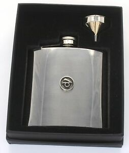 Capricorn Hip Flask Zodiac Sign Stainless Steel Birth Sign Gift Free Engraving mNcMb83b-09121135-384221265