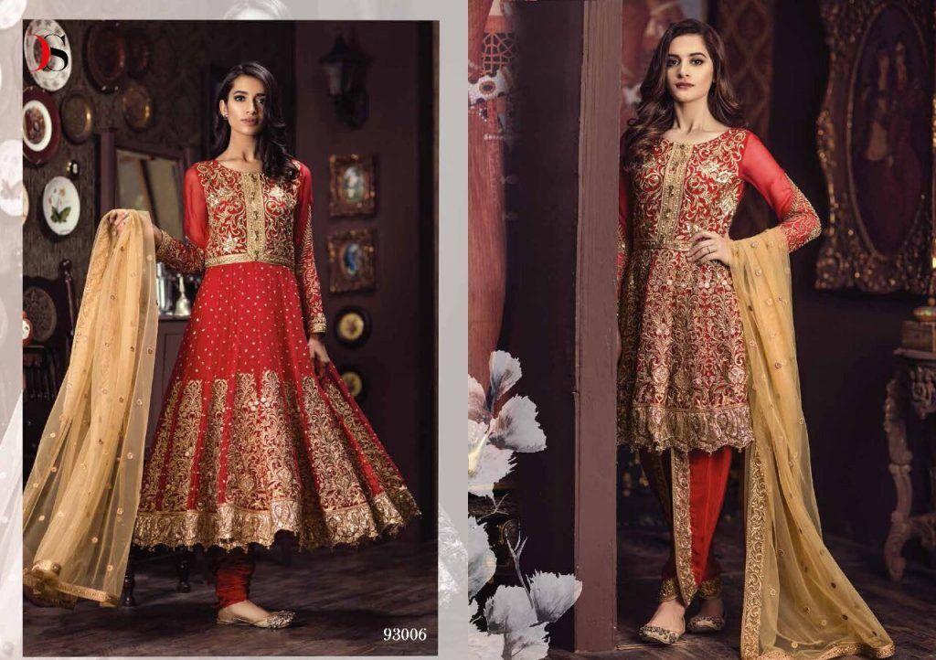 5949b7f23226 Latest Indian Pakistani designer inspired semi dress salwar kameez ...