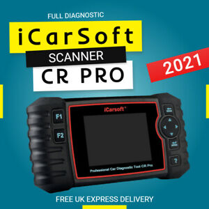 iCarsoft CR Pro Full Systems Diagnostic Scanner Tool For All Makes (LATEST 2021)