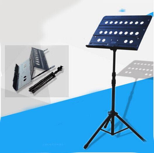 A20 Universal Portable Foldable Adjustable Music Stand Holder Folding Tripod A