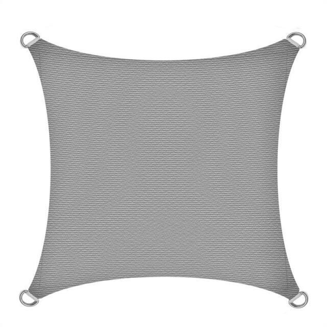 Sonnensegel Sonnenschutz von hanSe® Quadrat aus HDPE