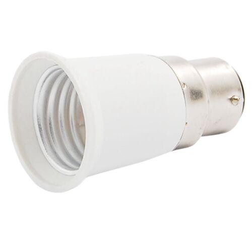 B22 vers E27 Adaptateur de la douille de l/'ampoule de lampe C2Y3 S0