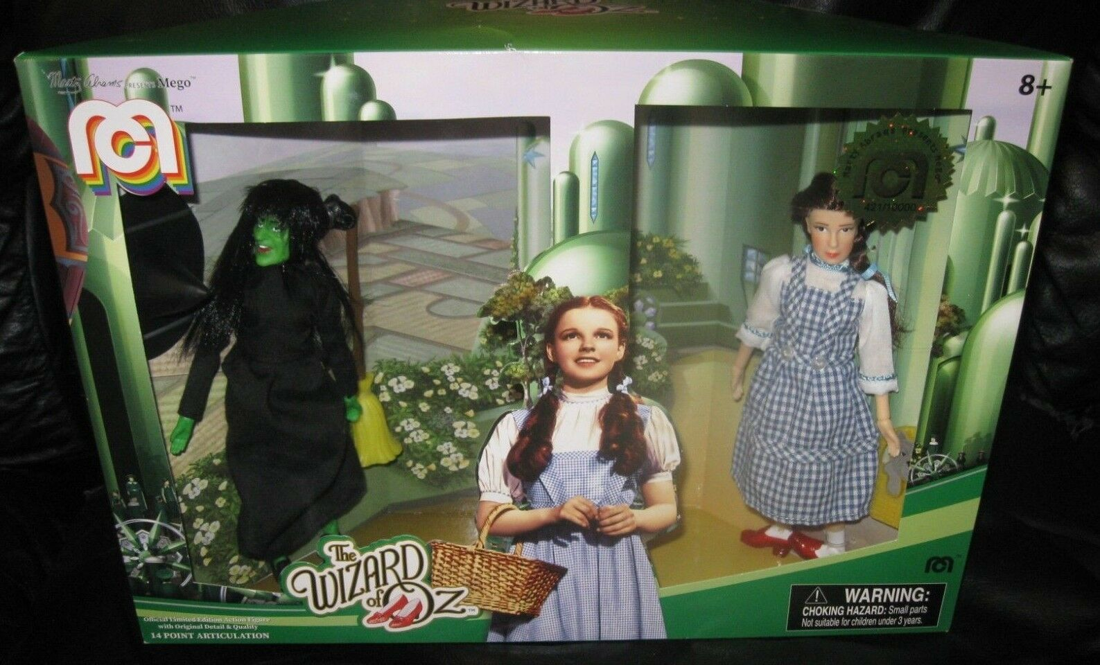 2018 MEGO Ltd Edition Target Classic Figure Set - Wizard of Oz - Dgoldthy & Witch