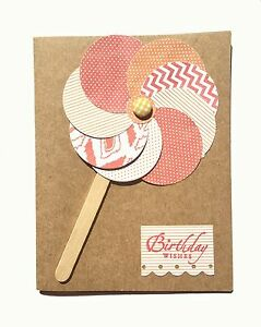 Image Is Loading As Assortment Of 8 Handmade Birthday Cards For