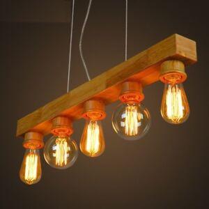 Details About Led Lamp Vintage Edison Bulb Chandelier Pendant Lights 220v Incandescent Holder