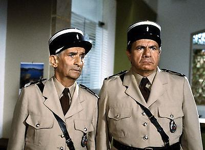 11x15 cm #48 Louis De Funes Foto der Gendarme und die Gendarmettes