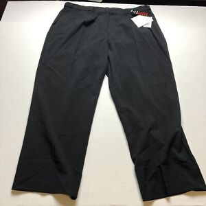 Briggs New York Womans Black Pants Size 20WS Short Inseam New A1168