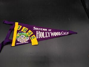 California Vintage Pennant Hollywood