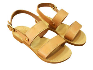 edf0d268c8eb5 Ancient Greek Toddler Leather Baby Sandals Roman Shoes Kids ...